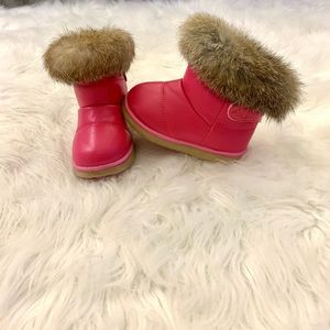 Other - Fur snow boots- toddler girls